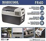 Mobicool FR40, elektrische Kompressor-Kühlbox mit 38 Liter Fassungsvermögen,...