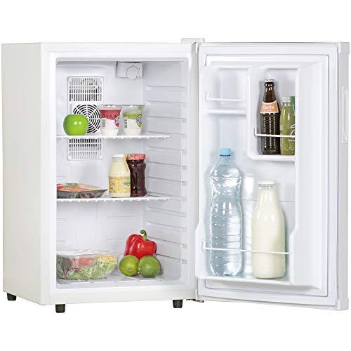 AMSTYLE Mini Kühlschrank 65 Liter Kleiner Kühlschrank Weiß 46x74x52 cm...