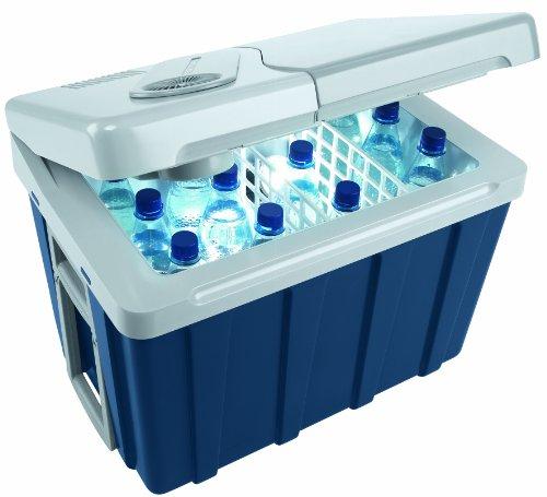Mobicool W40 AC/DC - thermo-elektrische Kühlbox mit Rollen, 39 Liter, 12 V und...