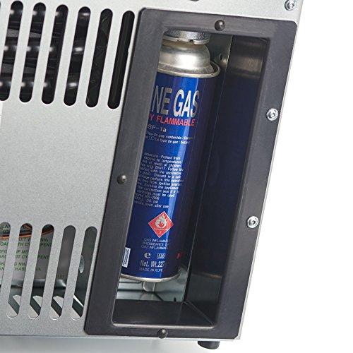 Dometic CombiCool RC 1205 GC - lautlose, elektrische Absorber-Kühlbox mit Platz...
